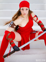 MegaCon 2014: Elektra II by ShortFusePinups
