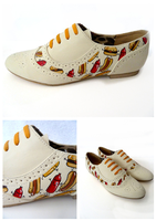 Cheeseburger Brogues by ponychops
