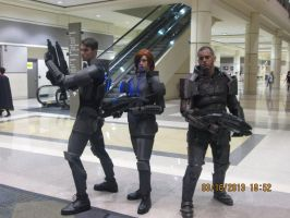 Megacon Mass Effect Cosplay by ToadyMcToadster