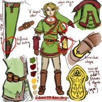 edited tp tunic concept sketch by Zelbunnii