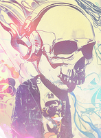 Cool Head a.k.a Everyday Skull by Wth-Iz-This