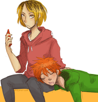Kenhina- Do Not Disturb by Sogequeen2550