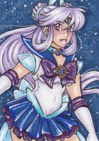 ACEO Sailor Comet by nickyflamingo