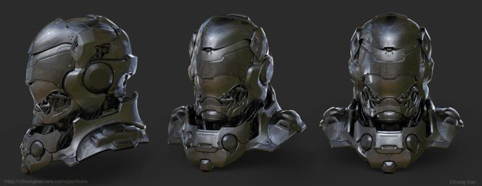 Hard Surface 3D Modeling for Production by ChungKan3D