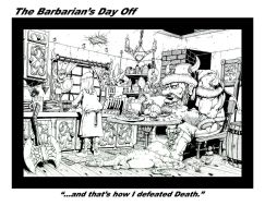 The Barbarian\'s Day Off by Iggy452001