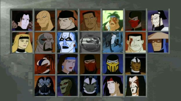 MK Defenders of the Realm Character Select Screen by Gery850