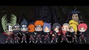the akatsuki by justcallmeBECK