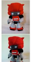 Plush Cliffjumper by DarkLordZafiel