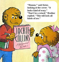 Sister Reads Jackie Collins by MahBoi-DINNER