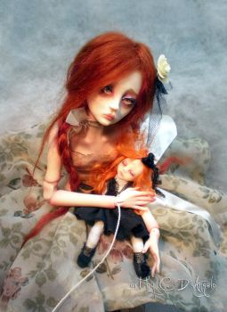 Ball jointed art doll BJD Child's Play AA by cdlitestudio