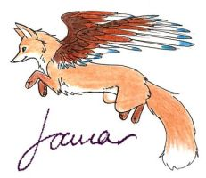 Inali in Flight by Joava
