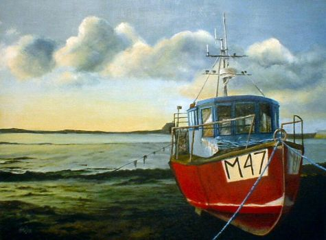 Welsh Fishing Boat by pussycat