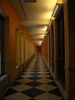 endless hallway by rapidvision
