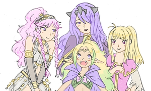 FE Heroes by SparxPunx