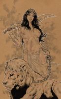 Dejah Thoris by jasonbaroody