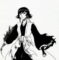 Soi fon from Bleach Arrancar Arc (manga version) by Acey-kakarot-michael