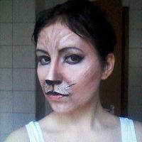 Make Up Boredom Cat  by elizafrost