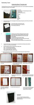 Basic Bookbinding: Pamphlet Stitch Tutorial by ThePressGang-ink