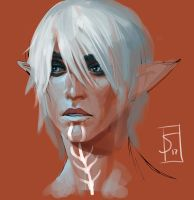 Fenris sketch by sagasketchbook
