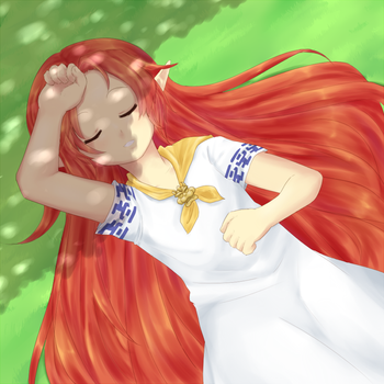 Napping under a Tree by Gumwad201