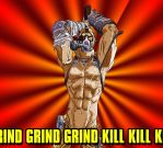 Borderlands 2 Krieg Psycho by sharrm