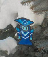 League of Legends Lissandra Bead Sprite Ornament by ReinaLaura