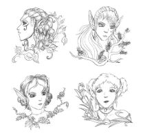 Elven Seasons by MadMouseMedia
