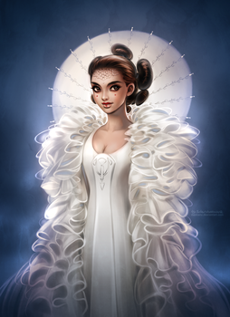 Star Wars: Queen Amidala by daekazu