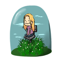 new ID, my little globe of happiness by dare-to-OC