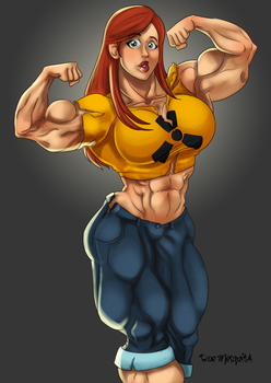 Hannah Multiverse Version: by Roemesquita by Pettyexpo