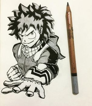 DEKU (Izuku Midoriya) by Berleon