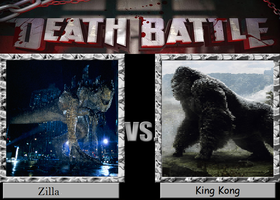 Zilla Vs. King Kong by Kenji-Leon-Gunji