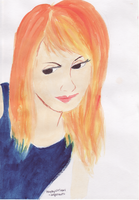 Hayley Williams - My art by angerawrrs