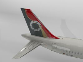 NEW REPAINT A321 WIP1 by VanKaiser