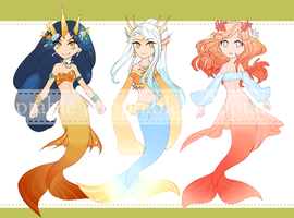 Mermaids [OPEN] by adopts-tantan