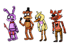 Five nights at freddy's style regular show by minimoose1231