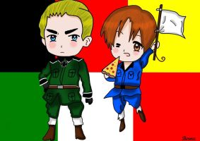 Aph Chibi Germany and Italy by Cygnus-X-2
