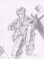 Spidey 2012 Pencils by Lance-Danger