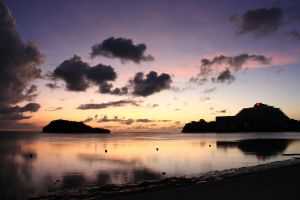 Missing the skies of Guam by peregrination