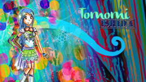 Tomomi Wallpaper by Rossally