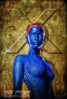 X-Men Days of Future Past: Mystique: BuzSim Edit by nerdboy69