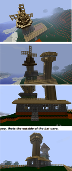 trickys house, exterior shots. by s1lverb0a