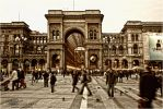 Milan - Square and People by LoganX78