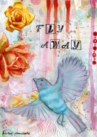 Fly Away Collage by CountryBird