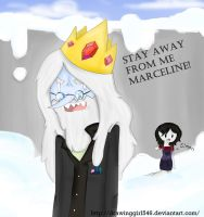 Stay away from me Marceline (Speedpaint) by Drawing-Heart