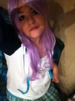 Rosario to Vampire - Mizore Shirayuki Cosplay by Taamy-chan