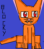 blocky cat by Me-MowTheCat