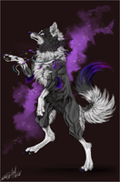.:Magic Violet Dance:. by WhiteSpiritWolf