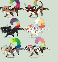 New Year Adoptables by Yesterday-Torrey