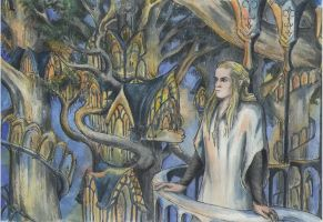 Haldir in Lothlorien by AnotherStranger-Me